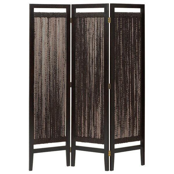 【ポイント20倍】パーテーション(スクリーン) グランツシリーズ 3連 木製 高さ150cm アジアン風 ブラウン【代引不可】
