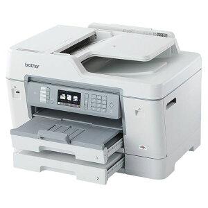 ブラザー工業A3インクジェット複合機/FAX/ADF/有線・無線LAN/給紙トレイ2段/両面印刷MFC-J6995CDW
