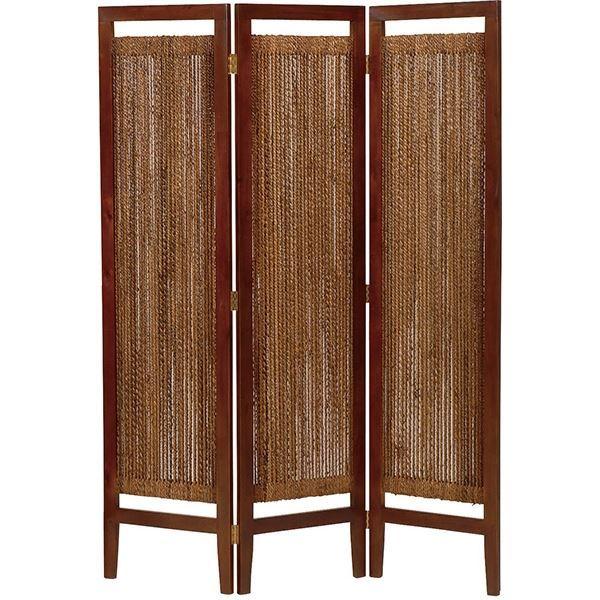 【ポイント20倍】パーテーション(スクリーン) グランツシリーズ 3連 木製 高さ150cm アジアン風 ナチュラル【代引不可】