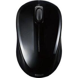 (まとめ) サンワサプライ 静音ワイヤレスブルーLEDマウス 2ボタン ブラック MA-WBL32BK 1個 【×2セット】