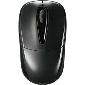 (まとめ) サンワサプライ 静音ワイヤレスマウス 2ボタン ブラック MA-WH123BK 1個 【×2セット】