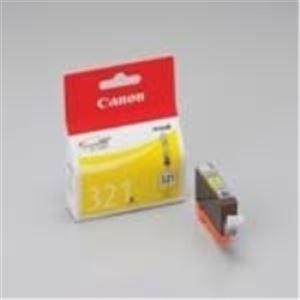 (業務用10セット)Canon(キャノン)インクカートリッジBCI-321Y黄4個【×10セット】