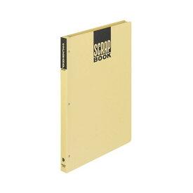 (まとめ) コクヨ スクラップブックD(とじこみ式) B4 中紙28枚 背幅25mm クラフト ラ-44N 1冊 【×10セット】