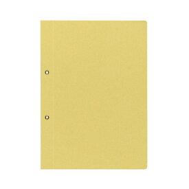 (まとめ) コクヨ 綴込表紙C クラフトタイプ B5タテ 2穴 業務用パック ツ-41 1パック(20組40枚) 【×4セット】