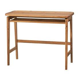 木目調マルチデスク/学習机 【幅90cm】 木製 天然木/アカシア NET-725