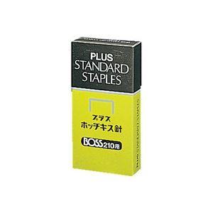 (業務用100セット)プラスホッチキス針BOSS210用210本とじ×24【×100セット】