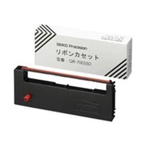 (業務用10セット)SEIKO(セイコー)リボンカセットQR-70055D【×10セット】