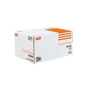 (まとめ)TANOSEEPPC用紙PureWhiteA41箱(5000枚:500枚×10冊)【×10セット】