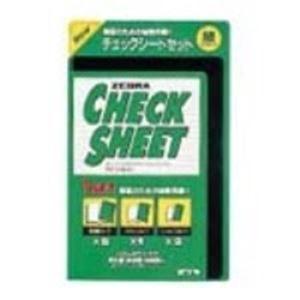 (業務用100セット)ゼブラZEBRAチェックシートSE-300-CK-G緑【×100セット】