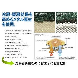 【送料無料】【代引不可】スミノエNEXTHOMELINEKERUGリネケラグ200×200cm正方形アイボリー