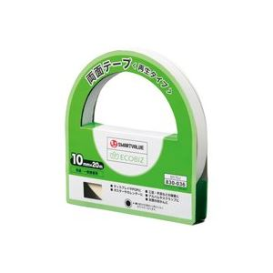 (業務用20セット)ジョインテックス両面テープ(再生)10mm×20m10個B570J-10【×20セット】