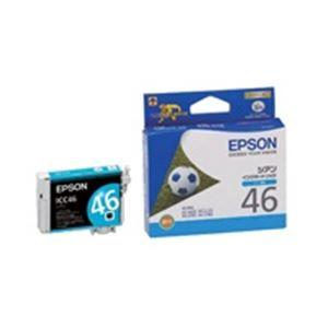 (業務用50セット)エプソンEPSONIJインクカートリッジICC46シアン【×50セット】