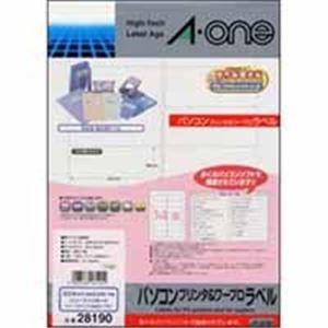 (業務用10セット)エーワンPC&WPラベル28190A4100枚日立RICOH(リコー)【×10セット】