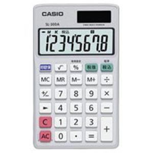 (業務用40セット)カシオCASIO手帳サイズ電卓SL-300A-N【×40セット】