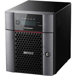 バッファローTeraStationTS5410DNシリーズ10GbE標準搭載法人向け4ドライブNAS8TBTS5410DN0804