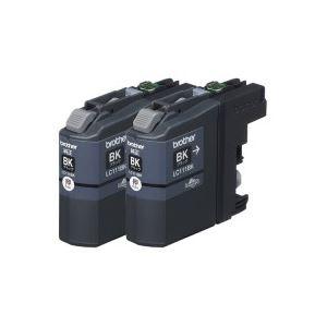 (業務用20セット)ブラザー工業インクカートリッジLC111BK-2PKブラック【×20セット】