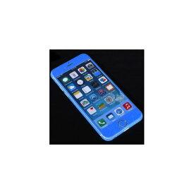 【マラソンでポイント最大43倍】(まとめ)ITPROTECH 全面保護スキンシール for iPhone6/ブルー YT-3DSKIN-BL/IP6【×10セット】
