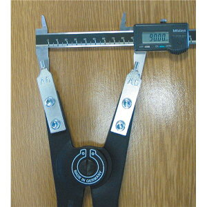 KNIPEX(クニペックス)4610-A6軸用スナップリングプライヤー直