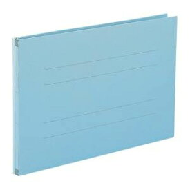 (業務用セット) のび-るファイル エスヤード 紙表紙(背幅17-97mm) AE-51F-10 ブルー 1冊入 【×10セット】