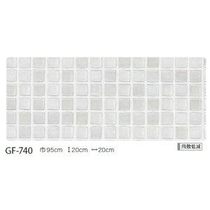 幾何柄飛散低減ガラスフィルムサンゲツGF-74095cm巾7m巻
