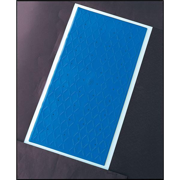 【スーパーセールでポイント最大43倍】アロン化成 入浴マット 安寿吸着すべり止めマット (1)S ブルー 535-447