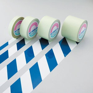 ガードテープGT-101WBL■カラー:白/青100mm幅【代引不可】