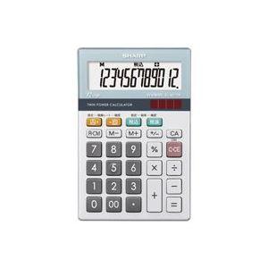 (業務用30セット)シャープSHARP環境配慮電卓ミニナイスサイズEL-M712K【×30セット】