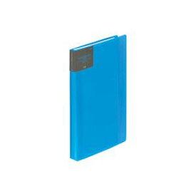 【スーパーセールでポイント最大44倍】(業務用100セット) プラス カードホルダーA4 FL-201NS ブルー