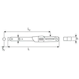 STAHLWILLE(スタビレー)730N】20トルクレンチ(40-200NM)(50181020)