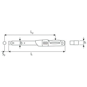 STAHLWILLE(スタビレー)730N】40トルクレンチ(80-400NM)(50181040)
