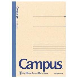 (まとめ) コクヨ 再生紙キャンパスノート セミB5 B罫 40枚 ノ-E4BN 1冊 【×30セット】