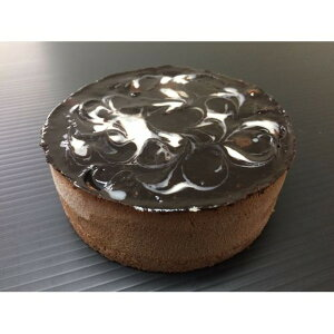 マーブルショコラムースケーキ/業務用ケーキ 【4号】 直径約12cm 日本製 〔スイーツ デザート お取り寄せ〕【代引不可】