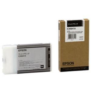 (業務用3セット)EPSON(エプソン)IJインクカートリッジICMB41Aマットブラック【×3セット】