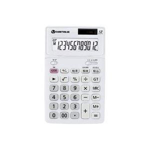 (業務用40セット)ジョインテックス中型電卓ホワイトK071J【×40セット】