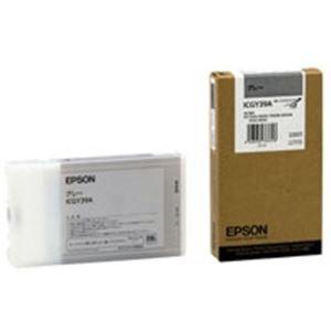 (業務用3セット)EPSON(エプソン)IJインクカートリッジICGY39Aグレー【×3セット】