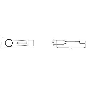 STAHLWILLE(スタビレー)8-80打撃メガネレンチ(42010080)