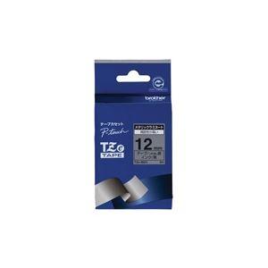 (業務用30セット)ブラザー工業文字テープTZe-M931銀に黒文字12mm【×30セット】