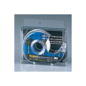 (業務用100セット)スリーエム3Mメンディングテープ811-1-18D18mm×15m【×100セット】
