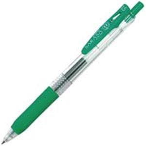 (業務用500セット)ゼブラZEBRAサラサクリップ0.5mmJJ15-G緑【×500セット】