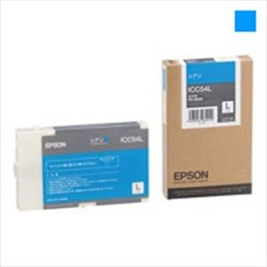 (業務用3セット)EPSON(エプソン)インクカートリッジLシアンLICC54L【×3セット】