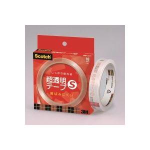 (業務用100セット)スリーエム3M超透明テープSBH-18N紙箱入【×100セット】