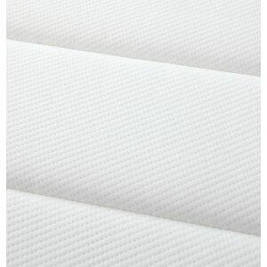 ベッドクイーン【プレミアムポケットコイルマットレス付き】ホワイト搬入・組立・簡単!選べる7つの寝心地!すのこ構造脚付きマットレスボトムベッド