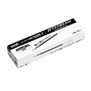 (業務用50セット)三菱鉛筆ボールペン替芯SXR7.24黒10本【×50セット】