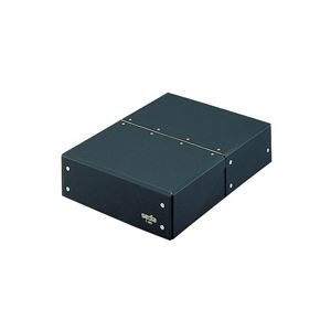 (業務用20セット)セキセイ図面箱T-280-60A4黒【×20セット】