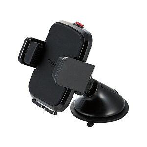 【クーポン配布中】(まとめ)エレコム 車載スマホスタンドP-CARS02BK ブラック【×10セット】