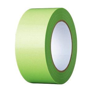 (まとめ)寺岡製作所 養生テープ 50mm×50m 若葉 TO4100G-50 1巻 【×10セット】