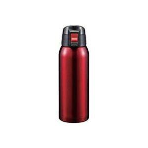 ワンタッチ タンブラー/水筒 【レッド】 720ml ステンレス 真空断熱 ロック付き 保温 保冷 『スタイラス』