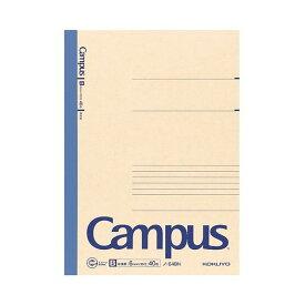 (まとめ) コクヨ 再生紙キャンパスノート セミB5 B罫 40枚 ノ-E4BN 1冊 【×50セット】