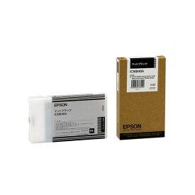 (まとめ) エプソン EPSON PX-Pインクカートリッジ マットブラック 110ml ICMB40A 1個 【×10セット】