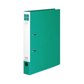 (まとめ) コクヨ リングファイル(スリムスタイル) A4タテ 2穴 330枚収容 背幅42mm 緑 フ-URF440G 1冊 【×30セット】
